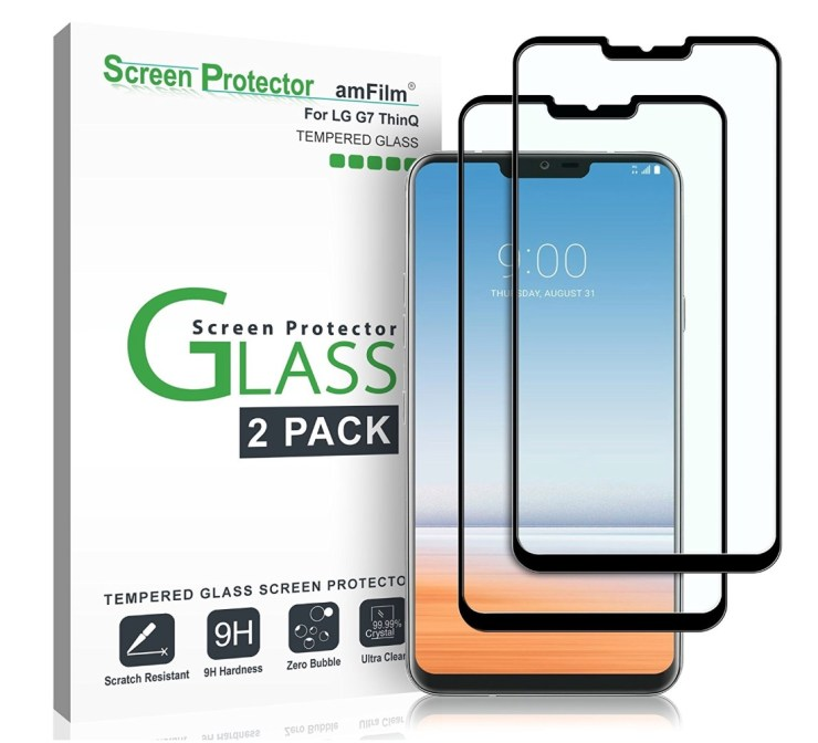 amFilm Tempered Glass 2-Pack
