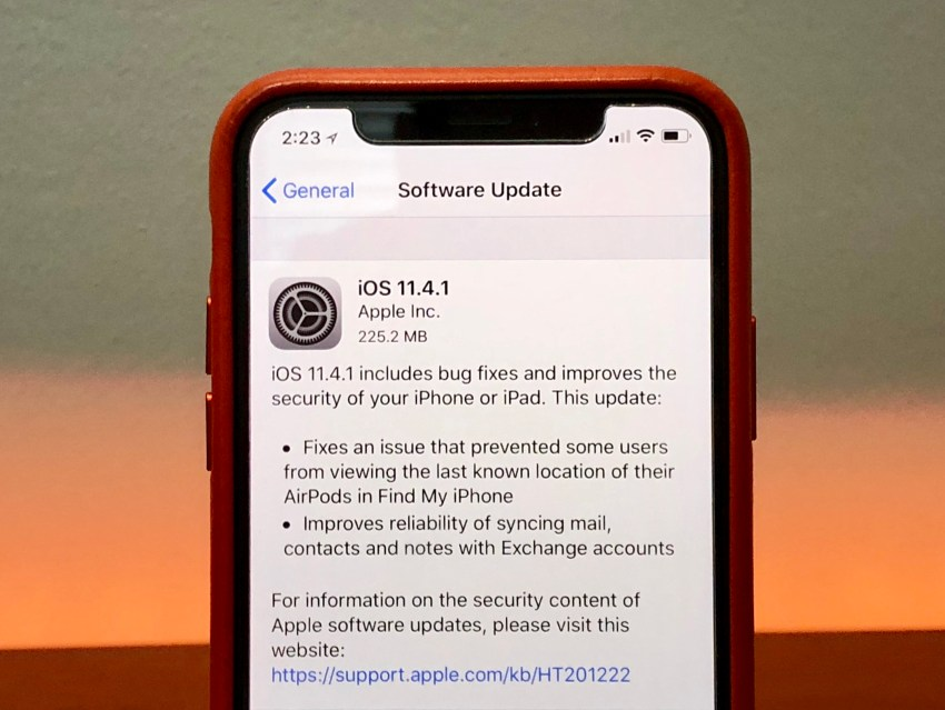 What's New in iOS 11.4.1