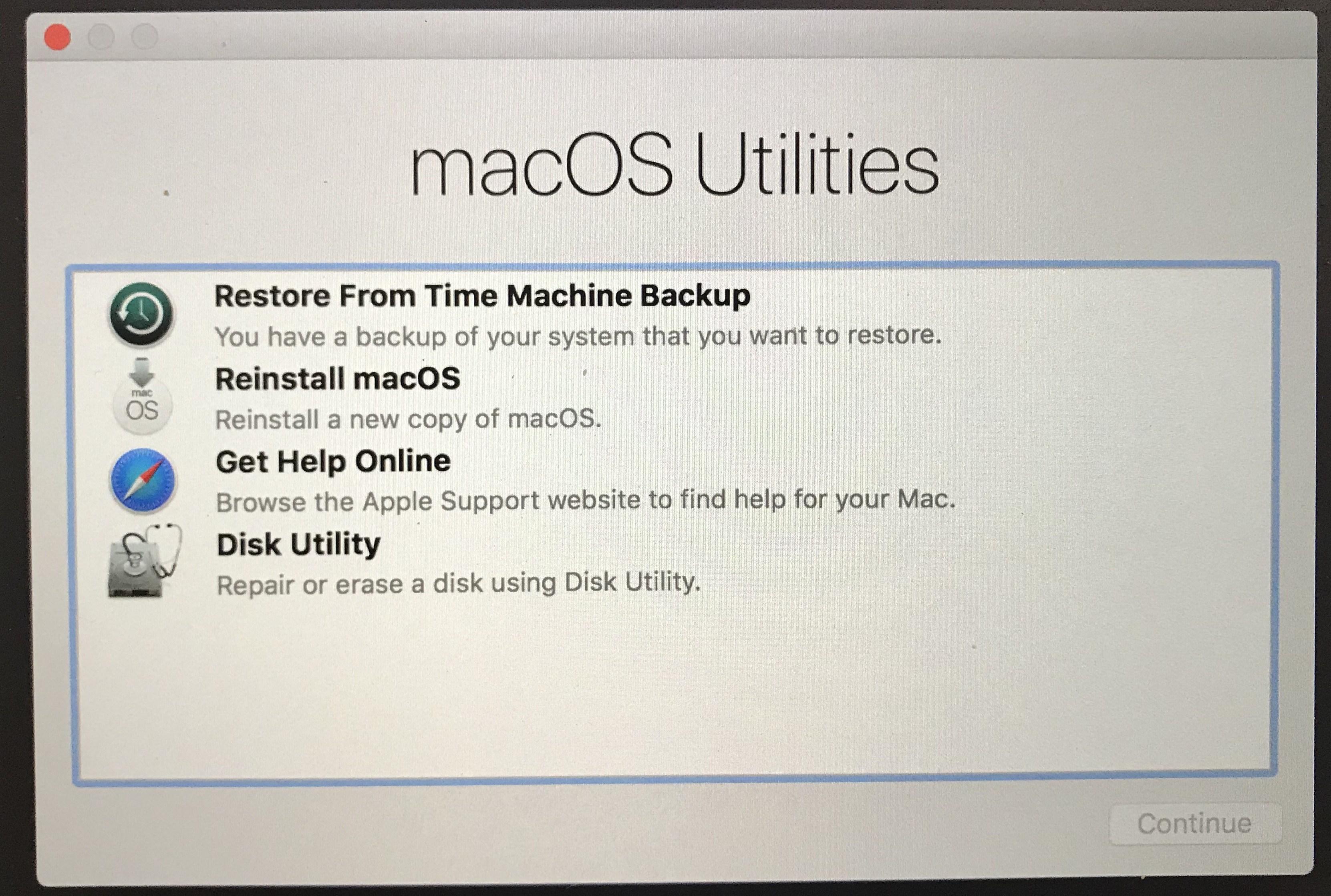 How to Downgrade macOS Mojave Beta to macOS High Sierra