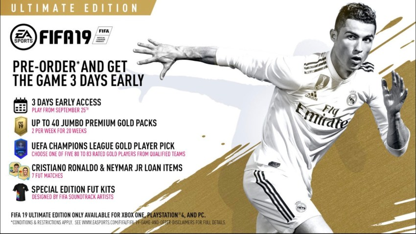 Pre-Order If You Want an Edge in FUT