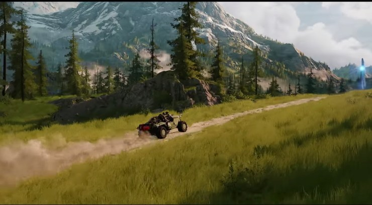 A new game engine powers this beautiful new Halo world.