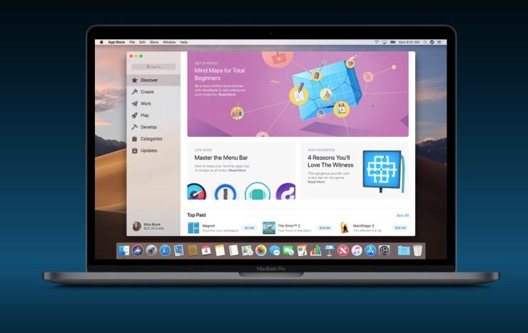 New Mac App Store