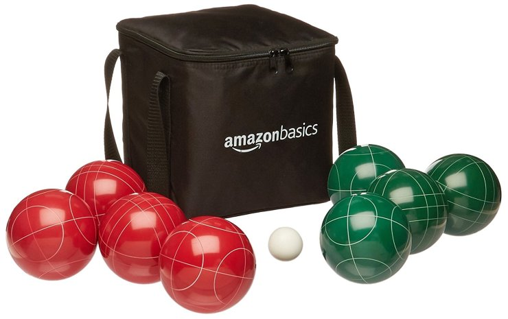 Amazon Basics Bocce Ball Set