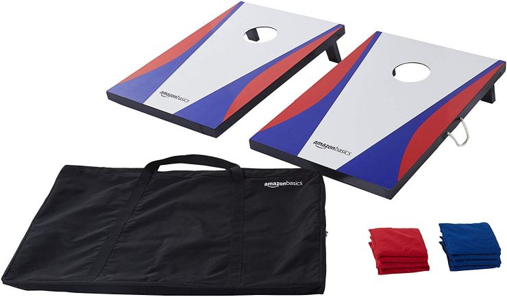 Amazon Basics Cornhole Set