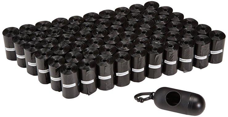 Amazon Basics Poop Bags - 900 Count