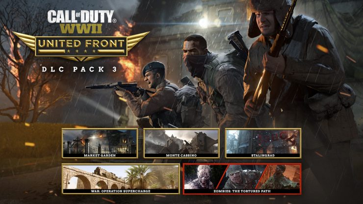 The United Front Call of Duty: WWII DLC 3 release date is next week.