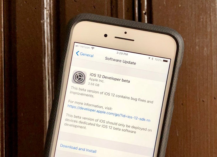 How to install the iOS 12 public beta when it is available.