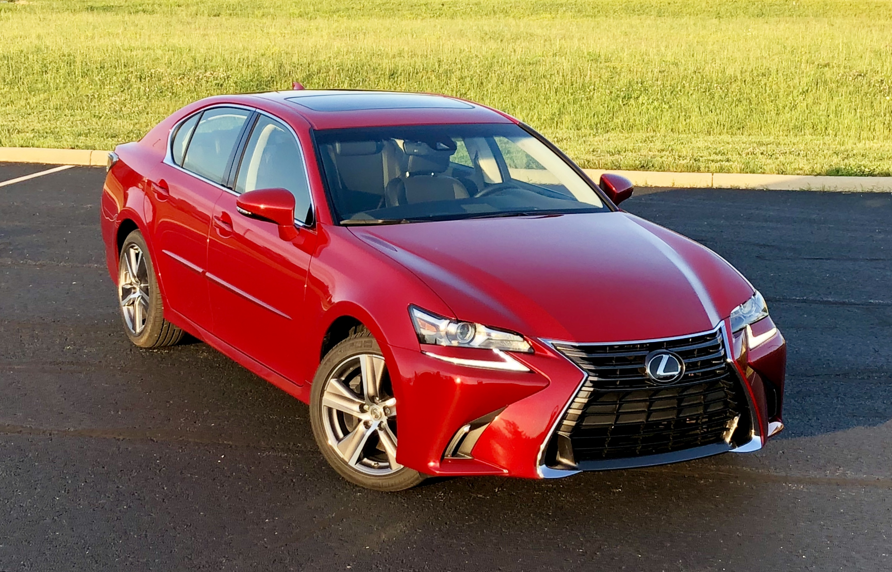 The Lexus GS 350 Is A Good Mid Size Luxury Sedan.
