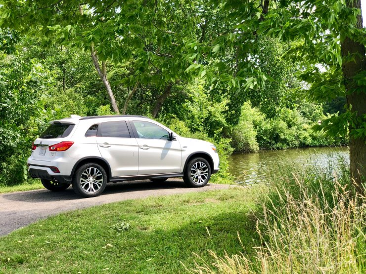 The 2018 Mitsubishi Outlander Sport is a good SUV at the price.