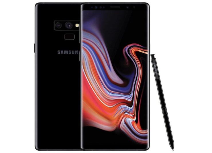 Galaxy Note 9 vs Galaxy S9+: Design
