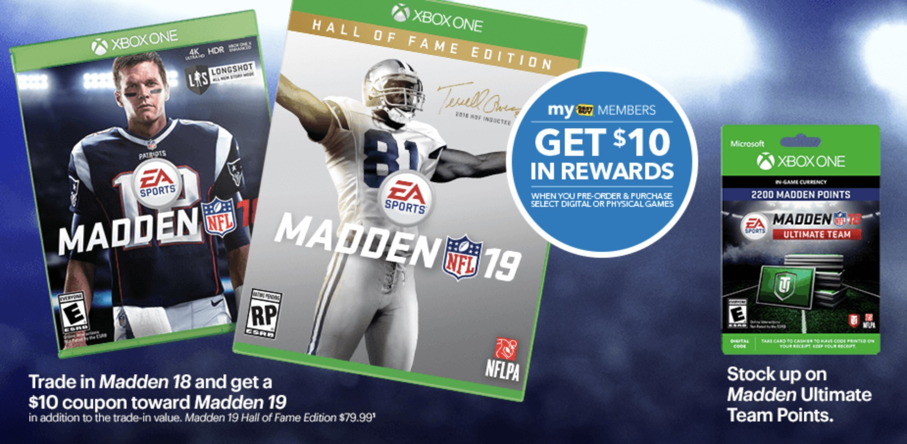 Epic Madden 19 Deal Cuts Price to $16