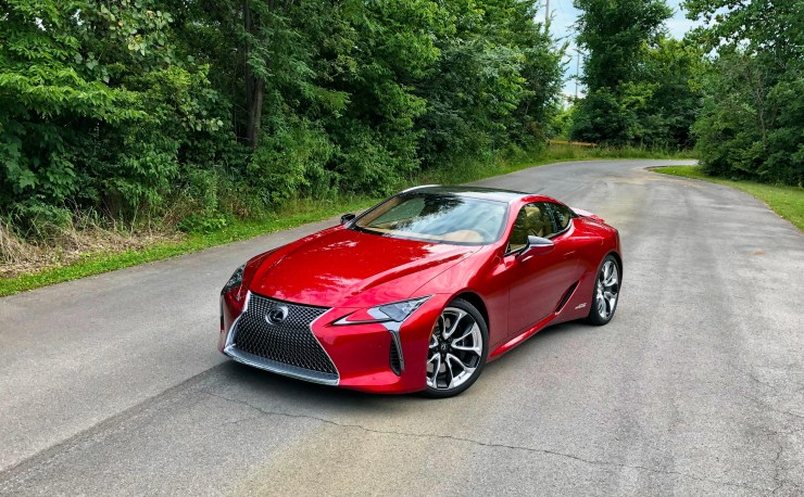 Is the Lexus LC 500h a good car?