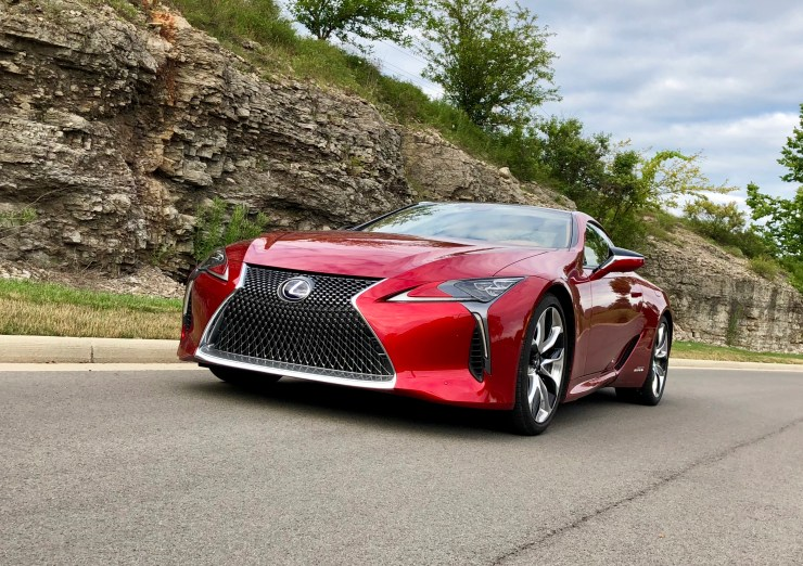 The LC 500h handles well and offers an array of drive modes.