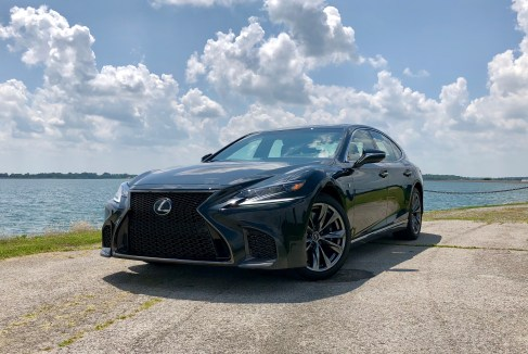 2018 Lexus LS 500 F Sport Review - 12