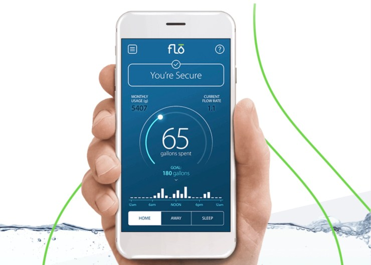Upgrade your plumbing with Flo, a Smart Home device for your home's water system.