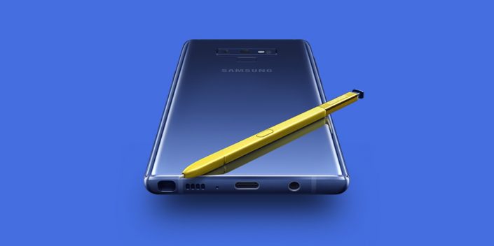 Save up to $450 off the Galaxy Note 9 when you trade-in during this deal.