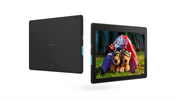 The Lenovo Tab E10 is a budget Android tablet with a 10-inch display.
