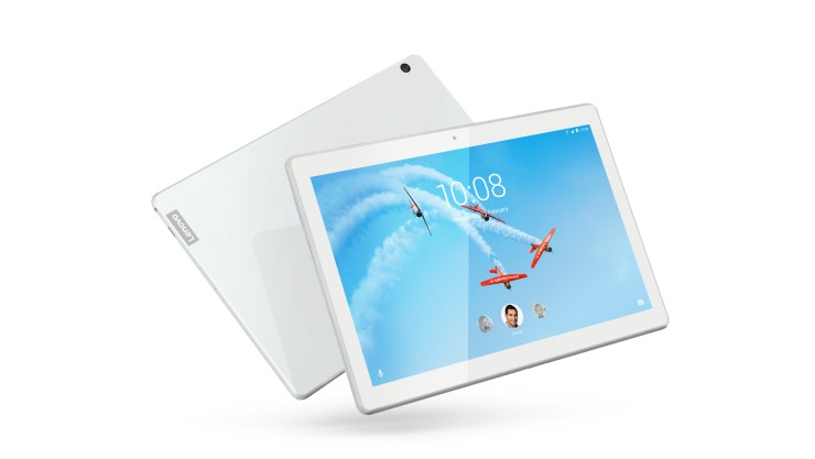 The Lenovo Tab M10 is aimed at cord cutters and streamers.