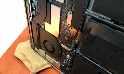 Act fast to save your MacBook from water damage.