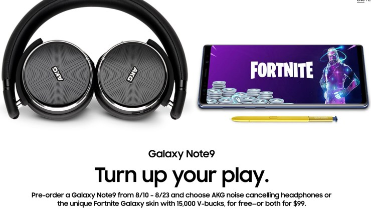 How To Claim Your Free 15 000 Fortnite V Bucks On Galaxy Note 9