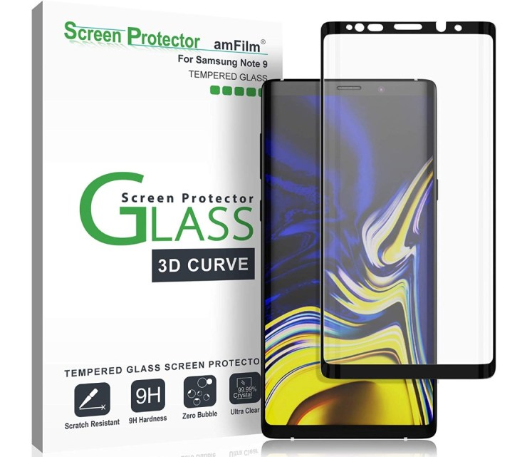 amFilm Full Cover Tempered Glass ($12)