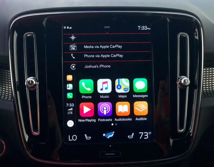 Volvo offers one of the best infotainment systems available in the XC40.