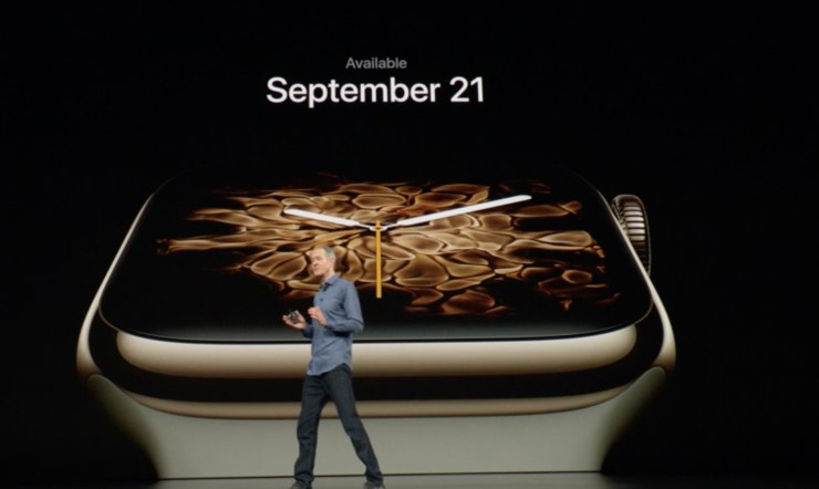The Apple Watch 4 release date is September 21st.