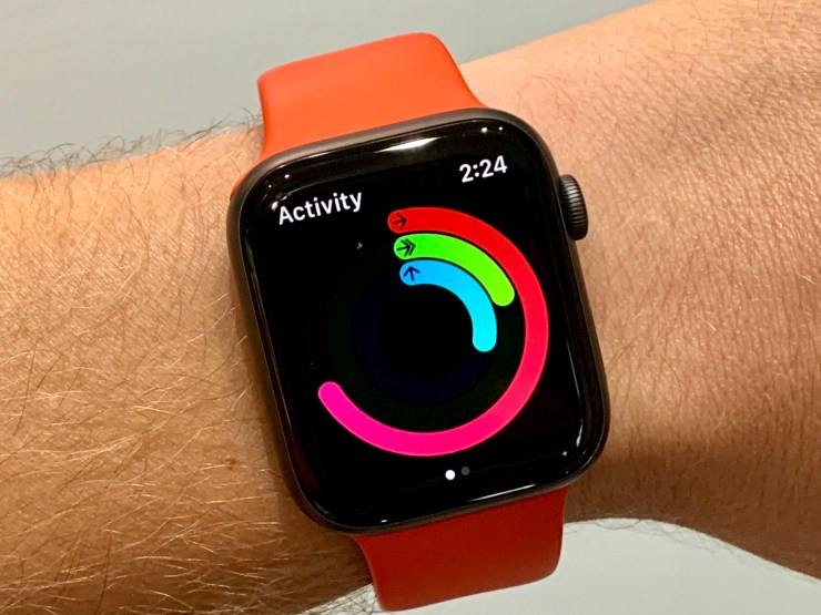 Take a walk to calibrate the Apple Watch fitness calculations.