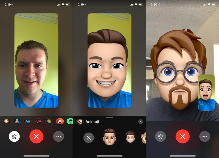 How to use Memoji in FaceTime.