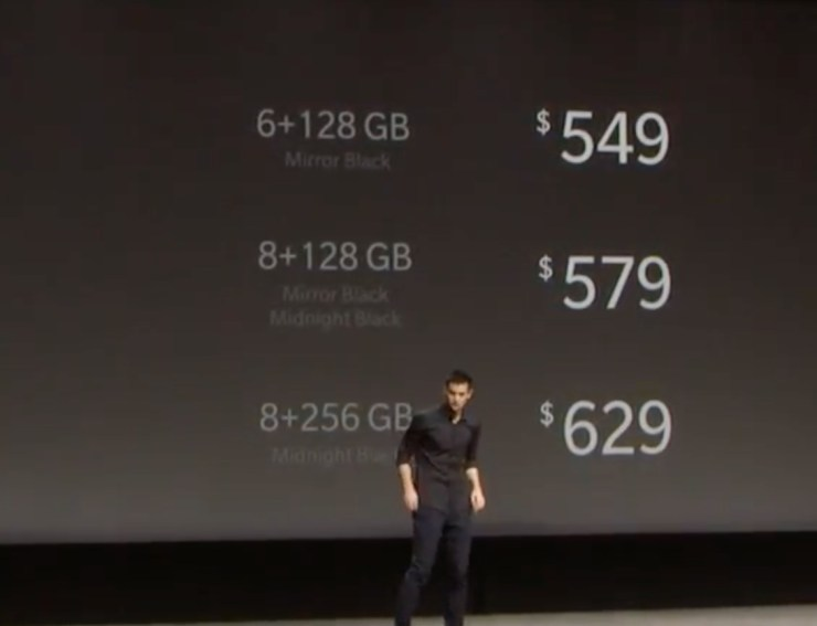 OnePlus 6T Release & Price