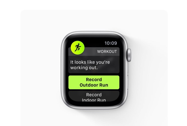 Install for New Exercise Tracking