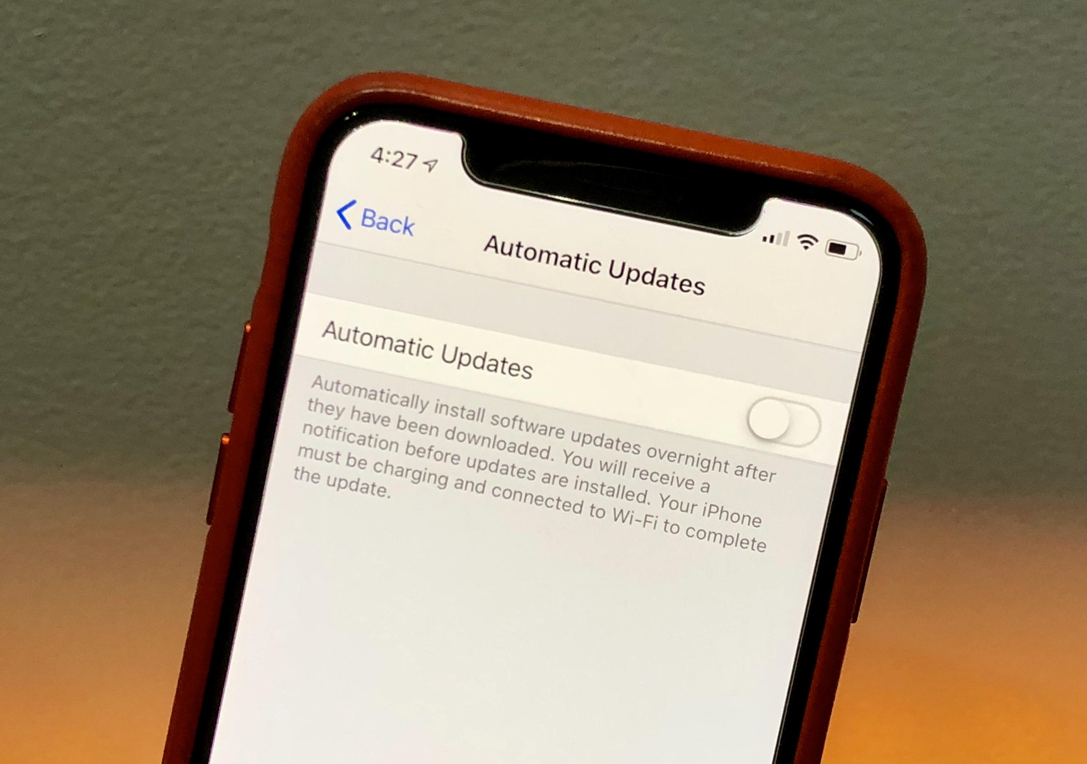 Iphone yazılım güncelleme kullanılamıyor sorunu