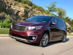 The Kia Sedona has plenty of power and handles well for a minivan, but the fuel economy isn't up to par with the competition.