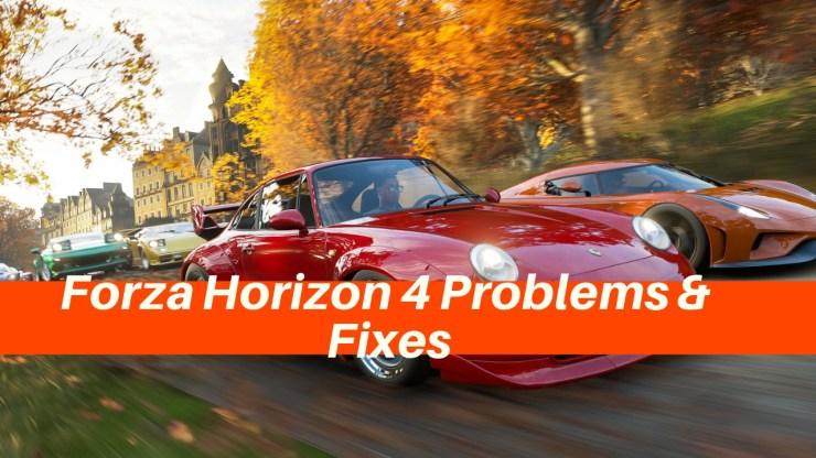 9 Common Forza Horizon 4 Problems & How to Fix Them