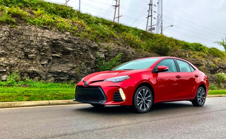 What it's like to drive the 2018 Corolla.