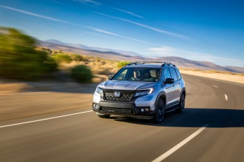 2019 Honda Passport with Accessory Roof Rack, Running Boards, Fender Flares and Towing Hitch