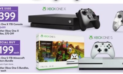 Save $100 or more with the Black Friday 2018 Xbox One deals.