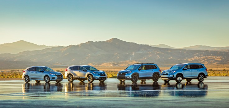 2019 Honda Passport with HR-V, CR-V and Pilot