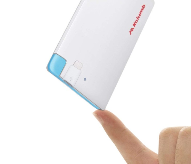 Wallet Pocket Power 2,500 Mah Battery