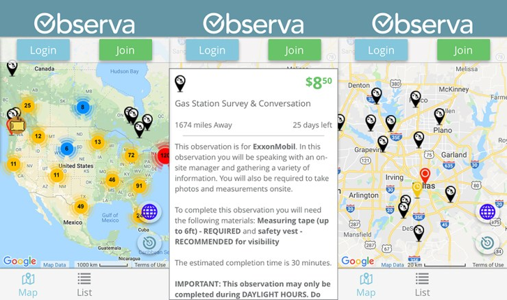 Observa - Make Money By Completing Tasks