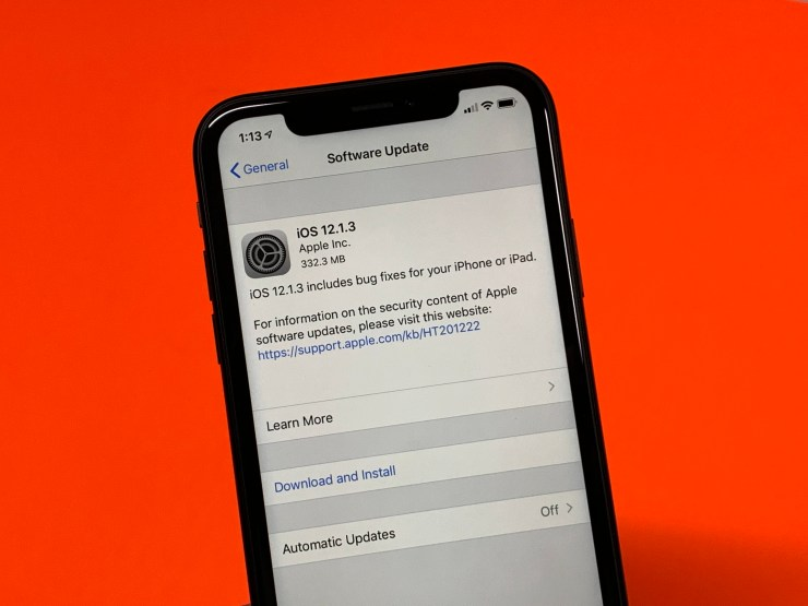 iOS 12.1.3 Features & Fixes