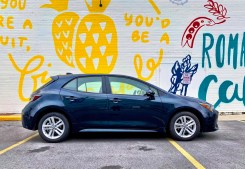 The 2019 Corolla Hatchback handles well, but it isn't as fun to drive as the competition.
