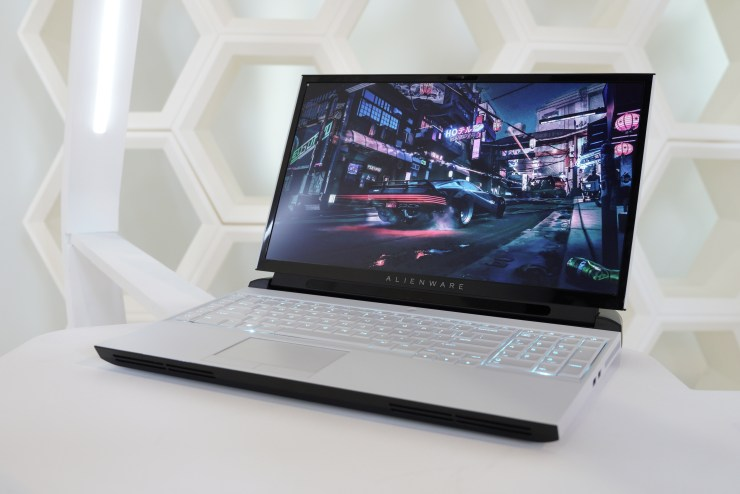 The new Alienware Area-51m for 2019.