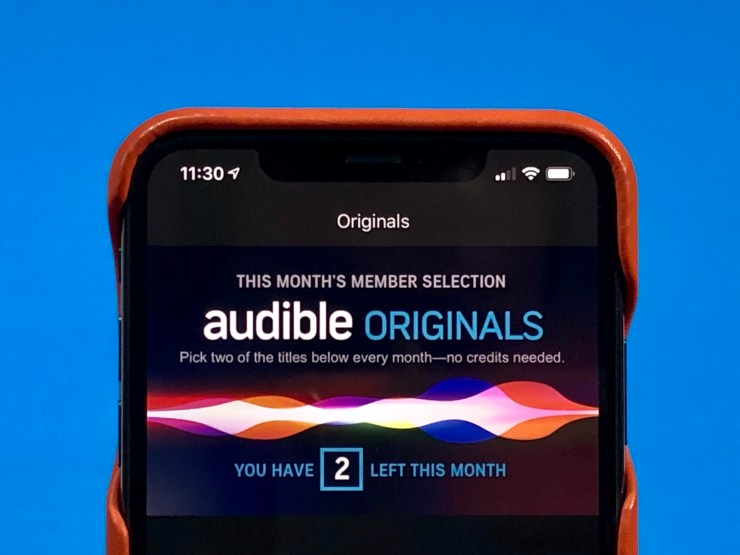 Audible members get access to Audible originals.