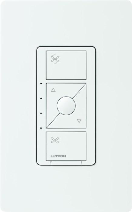 The Lutron Fan Speed Control lets you turn your ceiling fan into a smart fan.