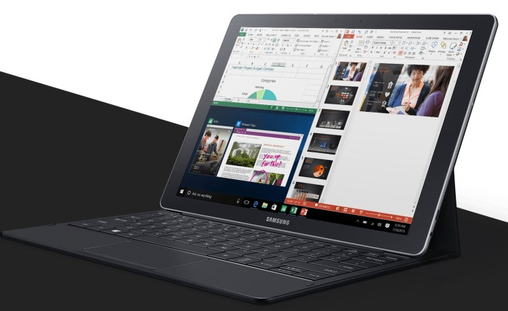 Samsung Galaxy TabPro S Convertible 2-in-1 Laptop