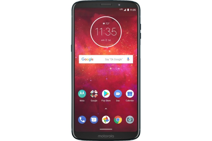 The Moto Z3 is a Galaxy S10e3 alternative that is 5G upgradeable.