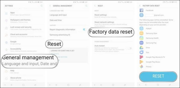 How to Reset Your Galaxy S8 Before You Sell It