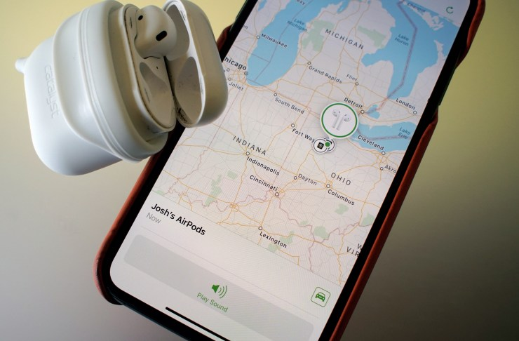 Find Your Lost AirPods