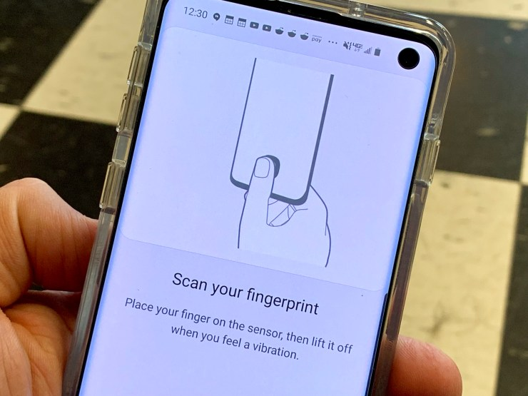 Train your fingerprints the right way.